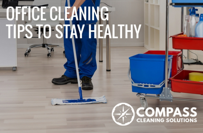 Office cleaning tips to stay healthy